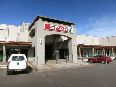 SPAR - supermarket, probably geared towards expats