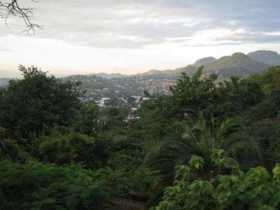 View from Kabula Lodge