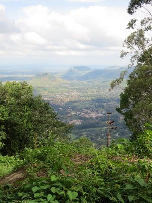 View from Zomba Plateau