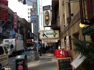 Eugene O'Neill Theatre - The Book of Mormon - winner of 9 Tony Awards
