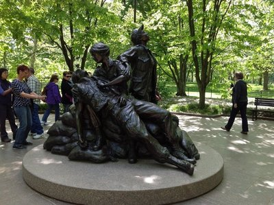 Woman's Memorial at the Vietnam War Memorial