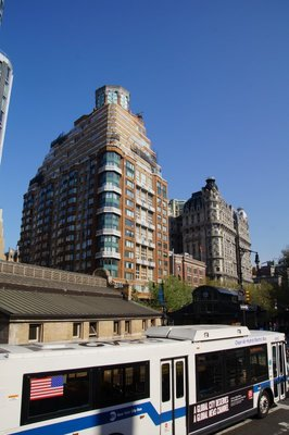 Apartment buildings in Upper Westside