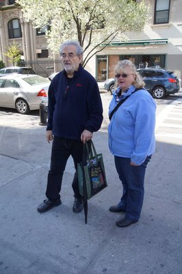 Big Apple Greeter Gordon Suber and Colleen
