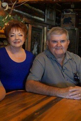 Julie and David at  Bear Lodge - elevation 7300 feet