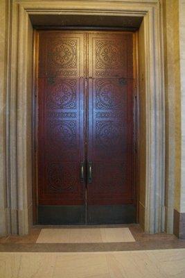 St Paul's Church Minneapolis internal doors