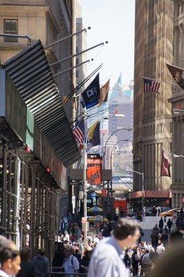 Wall Street, Financial District