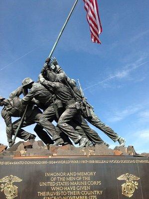 Iwo Jima Memorial -US Marine Corp