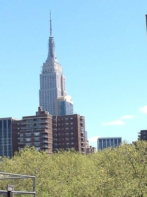 View from The High Line - view to The Empire State Building