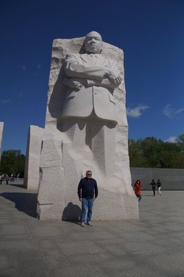 Dr Martin Luther King Jr Memorial - sculptor's signature dated 30/12/2010
