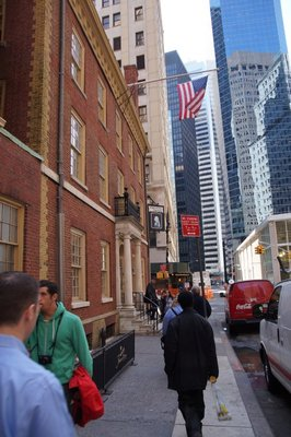 Fraunces Tavern scene of George Washington's farewell to his army after war with British