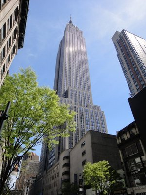 The Empire State Building 1 - street view 34th Street