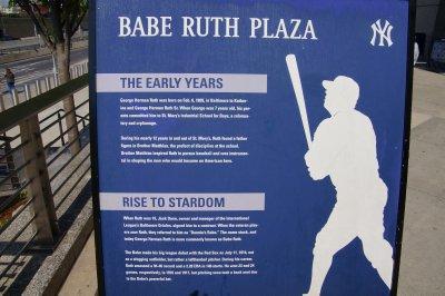 Babe Ruth Plaza, Yankee Stadium