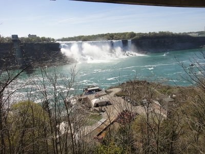 Niagara Falls from  Clifton Heights