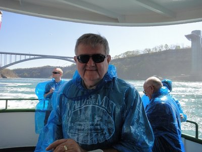 Wet weather gear -Maid of the Mist boat tour