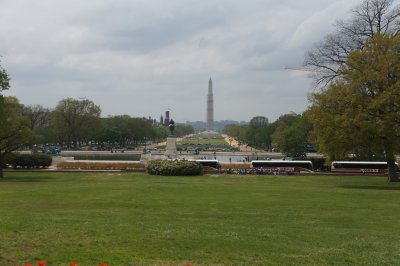 The National Mall viewed from The Capitol