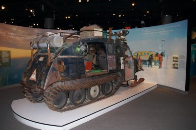 Inuit Snowmobile, National Museum of the American Indian