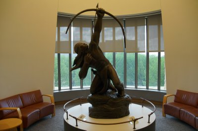 Sculpture in National Museum of the American Indian