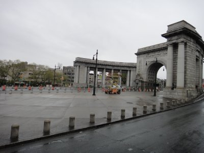 Entrance to the Manhattan Bridge
