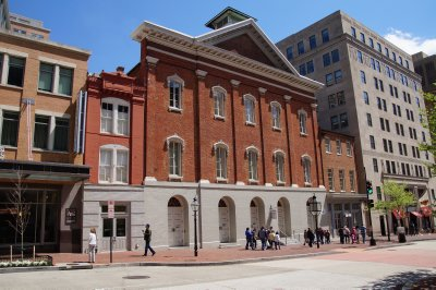 Ford's Theatre, Washington - scene of the assassination of President Abraham Lincoln