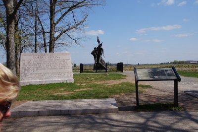 Gettysburg Battlefield South Carolina Memorial