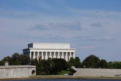 Lincoln Memorial from the Potomac River