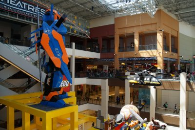 Mall of America lego figures