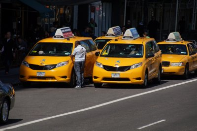 More NY Taxis