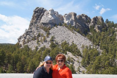Mt Rushmore National Memorial  - Colleen and Julie