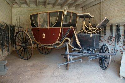 Mt Vernon Mansion - George Washington's coach