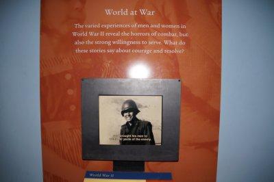 National Museum of American History - Medal of Honour recipient Daniel K Inouye