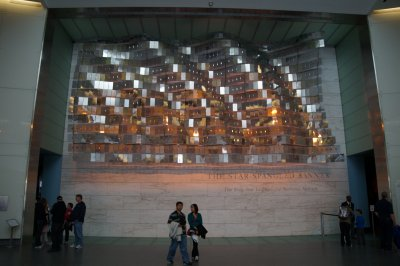 National Museum of American History entrance - the Star Spangled Banner