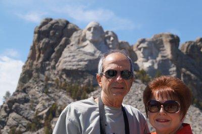 Philip and Julie at Mt Rushmore