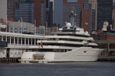 Russian billionaire's yacht