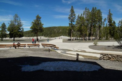 Yellowstone National Park Upper Geyser Basin Visitor Centre 2