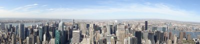 View from The Empire State Building - south east view