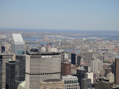 View from The Empire State Building - northern view