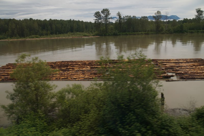 Fraser River -big logging district