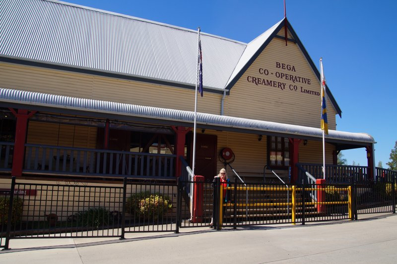 Original Cheese Factory at Bega