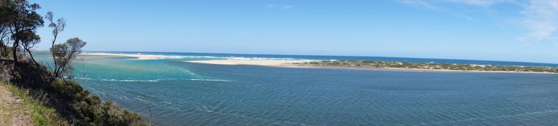 Panorama of Snowy River Estuary