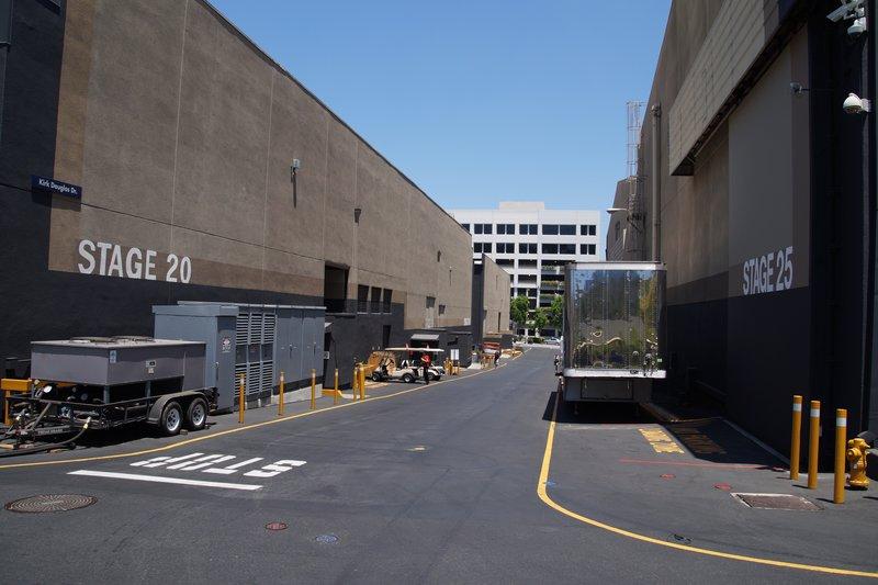 Studio 25 where CSI is filmed