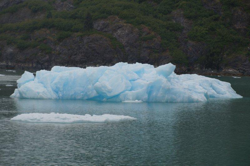 Approaching South Sawyer Glacier