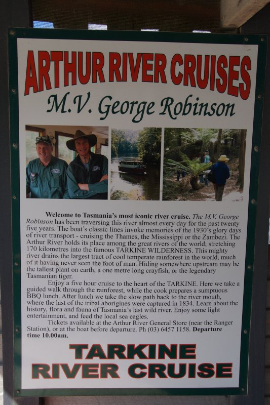 Arthur River, north western Tasmania
