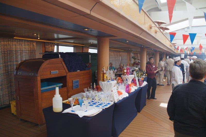 BBQ on the Lido Deck MS Volendam