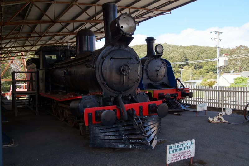 Beyer-Peacock Locomotive C1 at Zeehan Pioneers Museum