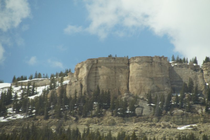 Big Horn National Park - western aspect