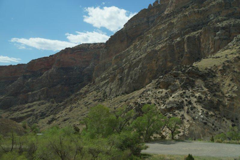 Big Horn National Park - western aspect -  Shell Creek