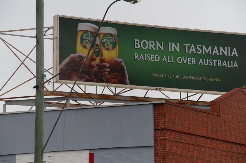 Boags Beer ad - Born in tasmania, raised all over Australia