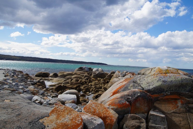 Burns Bay, St Helens Point