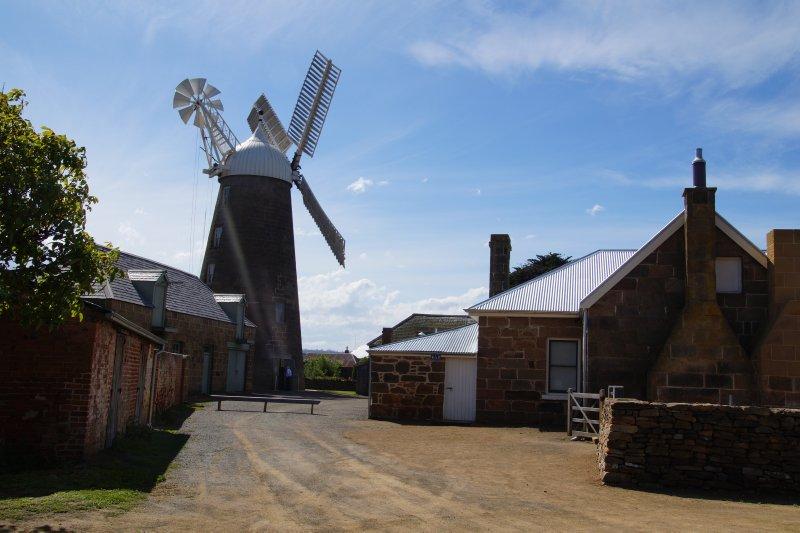 Callington Mill at Oatlands