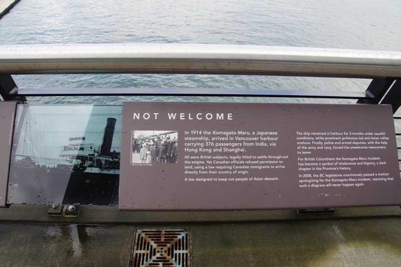 Canada Place - story boards from the past